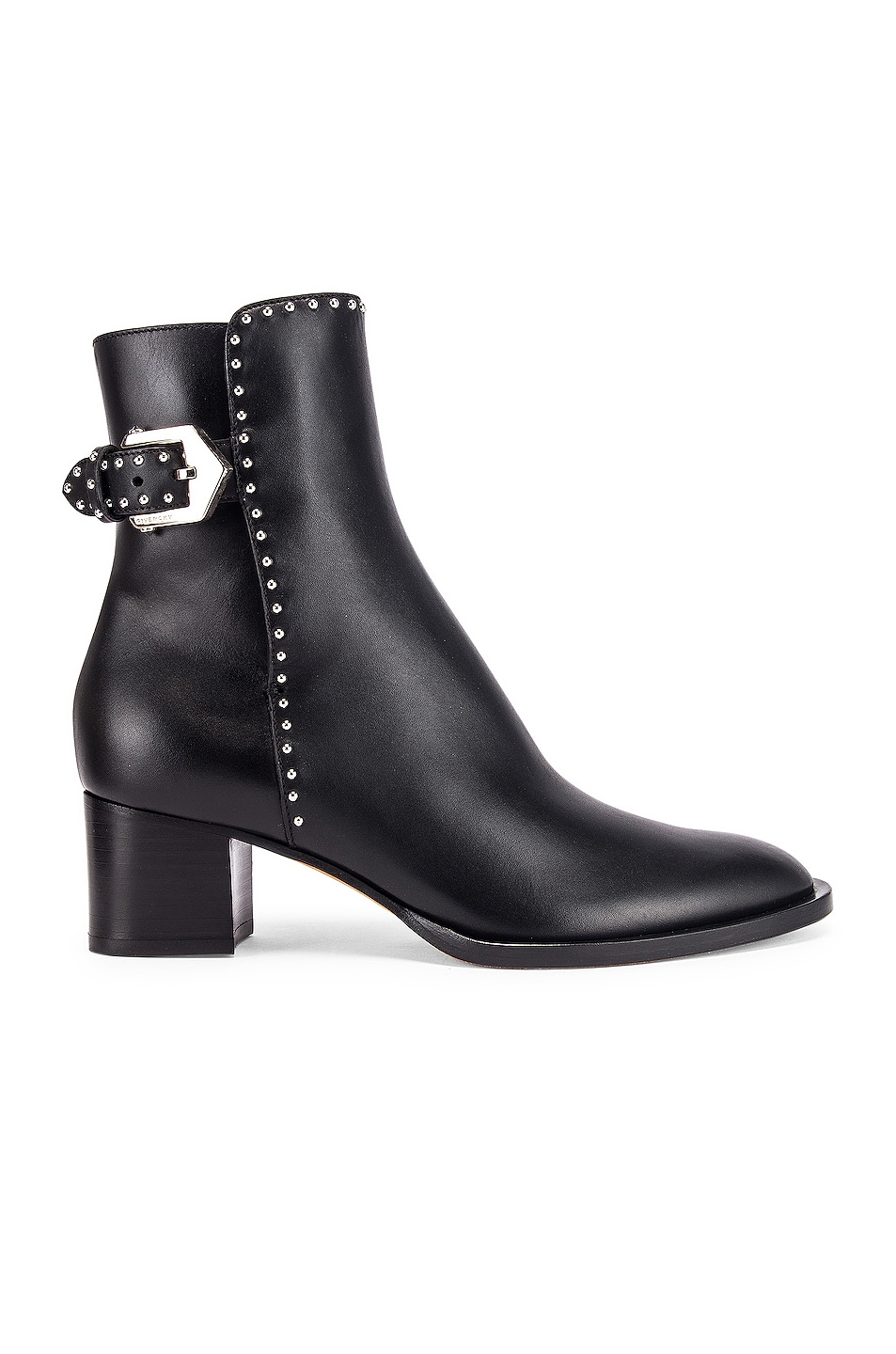 Image 1 of Givenchy Elegant Studs Ankle Boots in Black