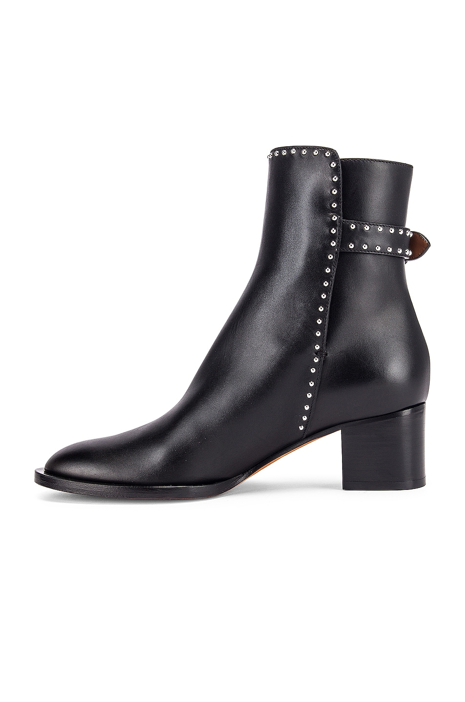 Image 5 of Givenchy Elegant Studs Ankle Boots in Black