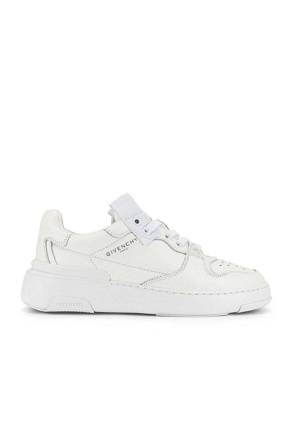 Image 1 of Givenchy Wing Low Top Sneakers in White