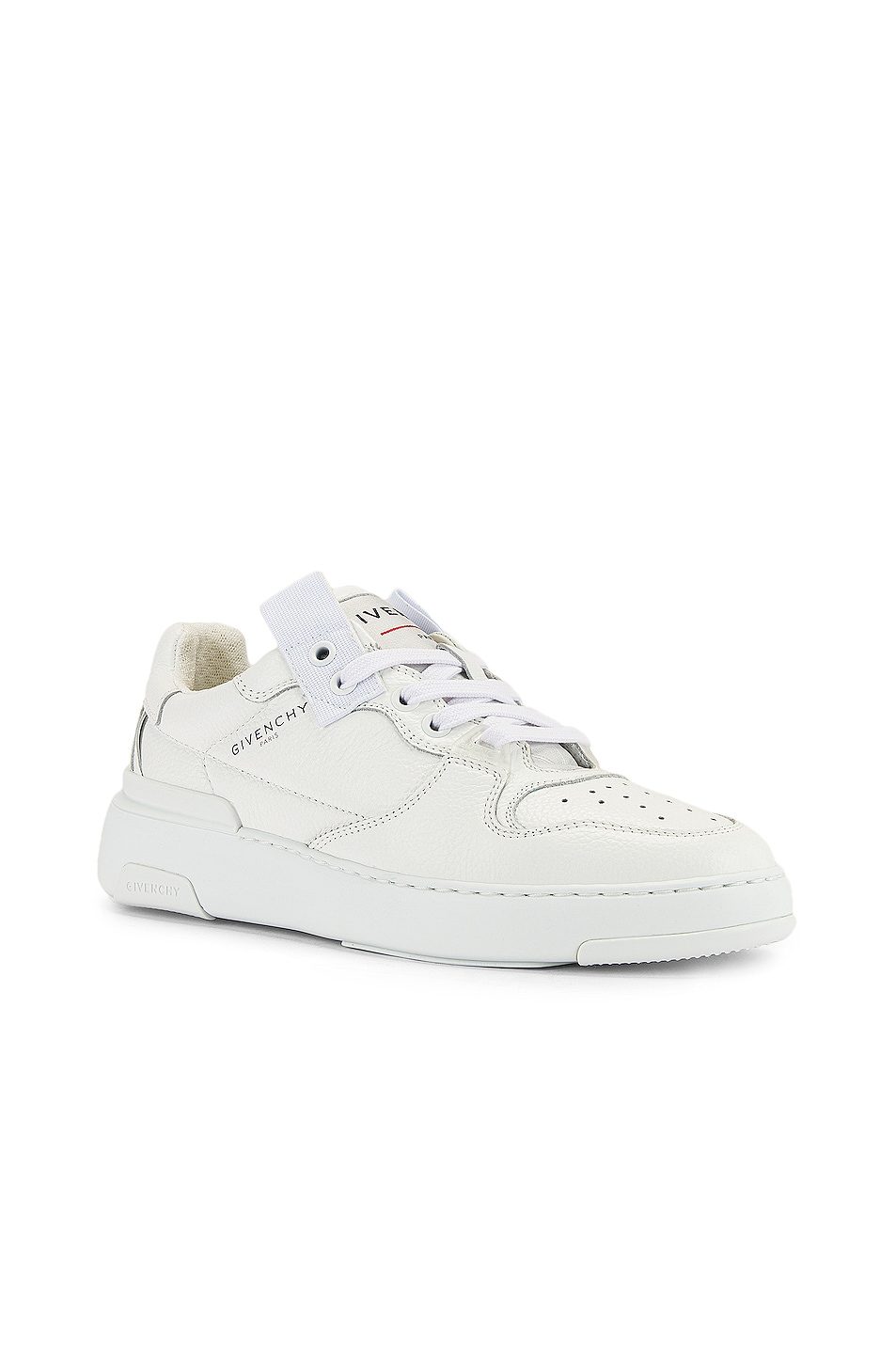Image 2 of Givenchy Wing Low Top Sneakers in White