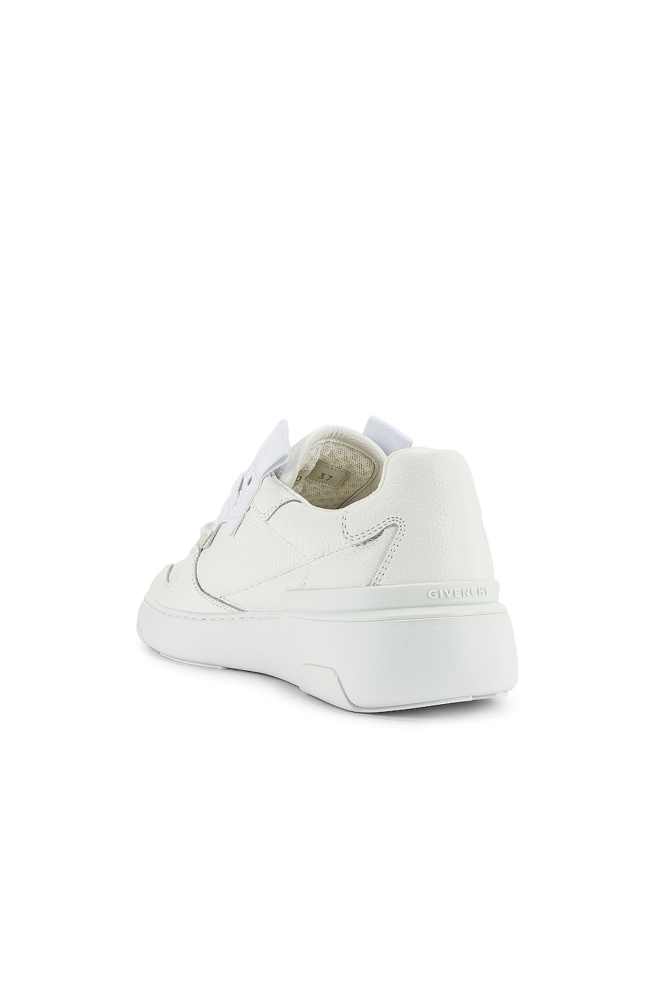 Image 3 of Givenchy Wing Low Top Sneakers in White