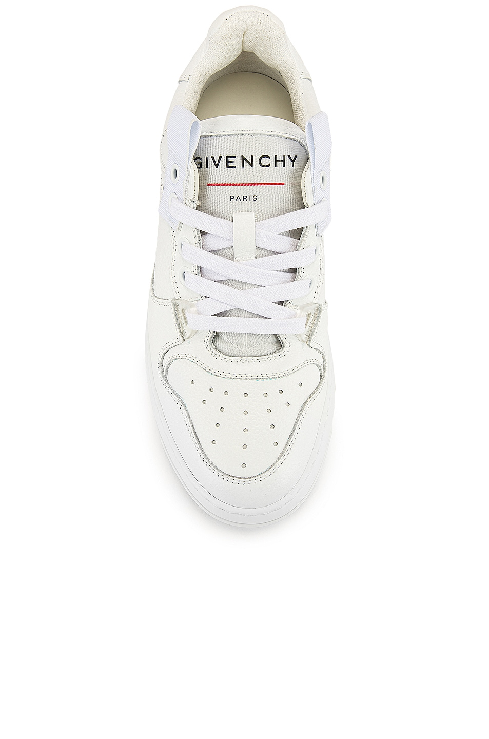 Image 4 of Givenchy Wing Low Top Sneakers in White