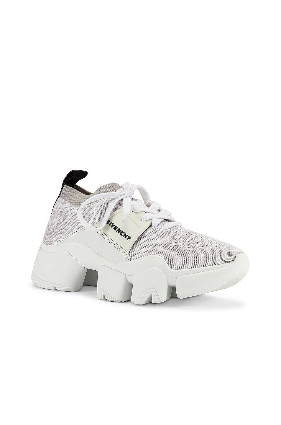 Image 2 of Givenchy Jaw Low Sock Sneakers in White