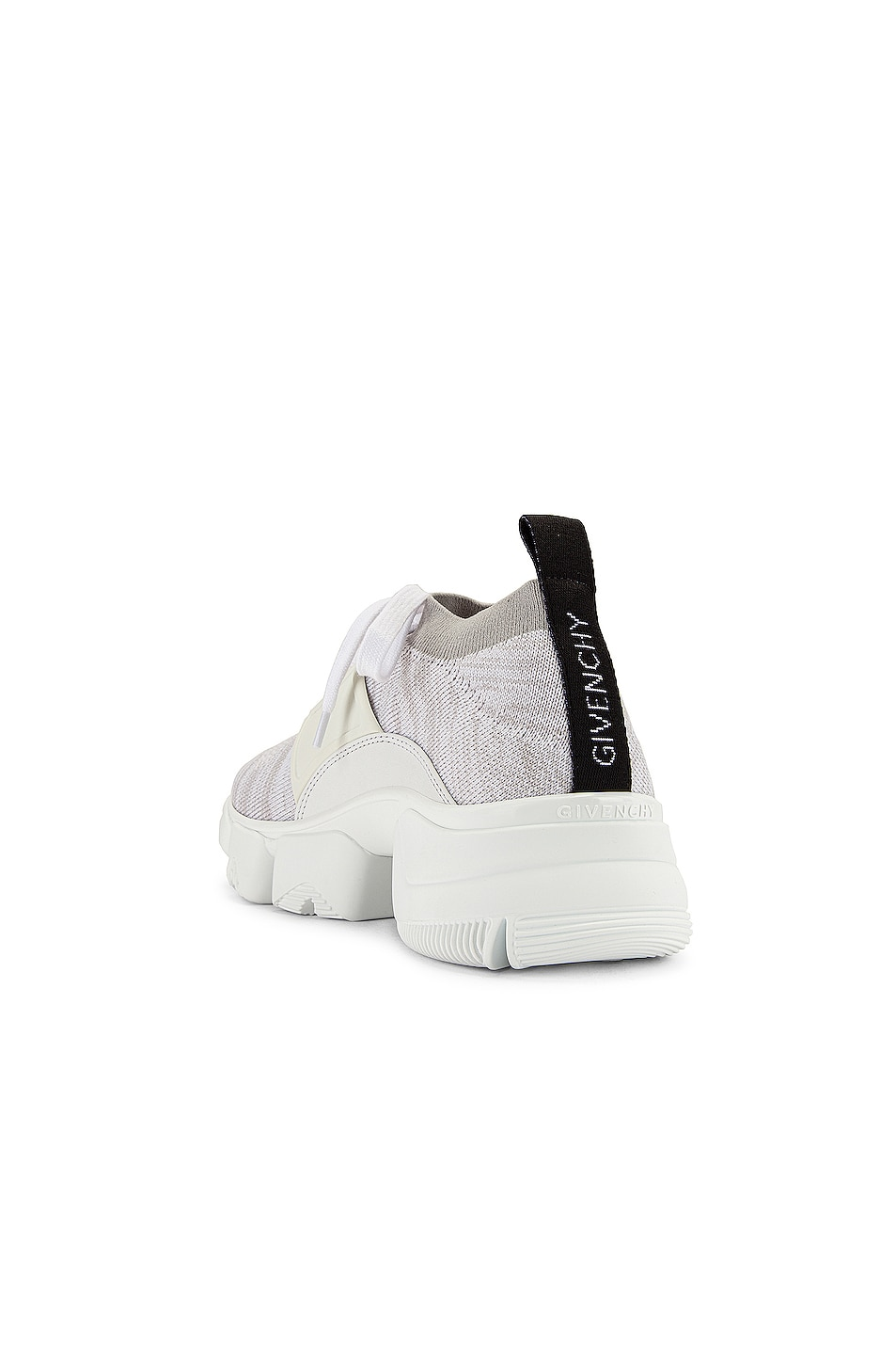 Image 3 of Givenchy Jaw Low Sock Sneakers in White