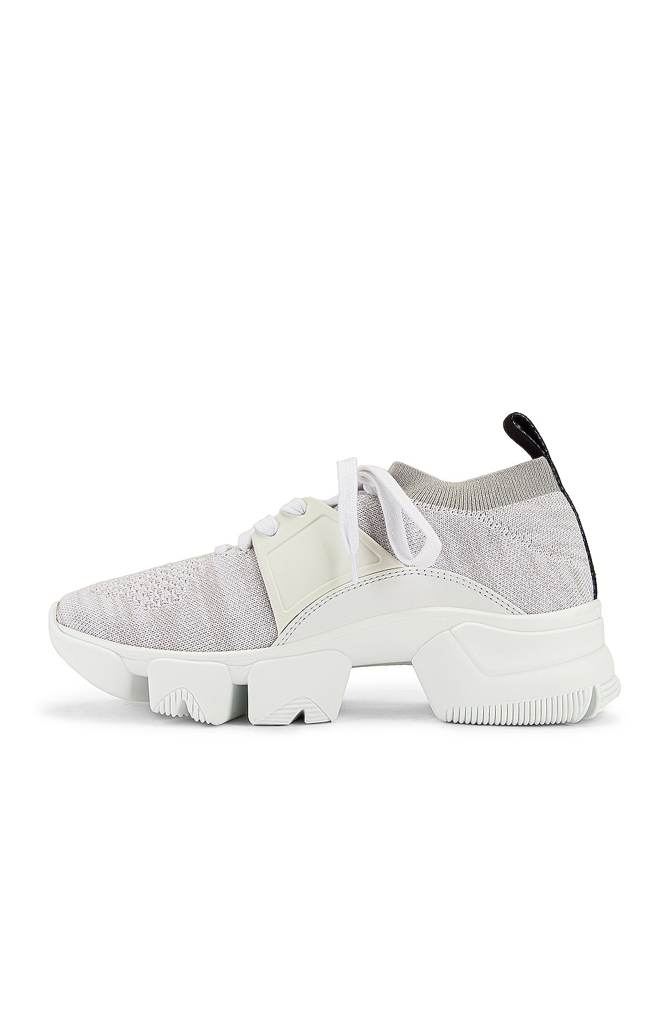 Image 5 of Givenchy Jaw Low Sock Sneakers in White