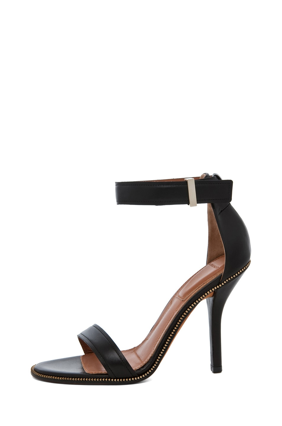 Image 1 of GIVENCHY Giuliana Zip Around Leather Heel in Black