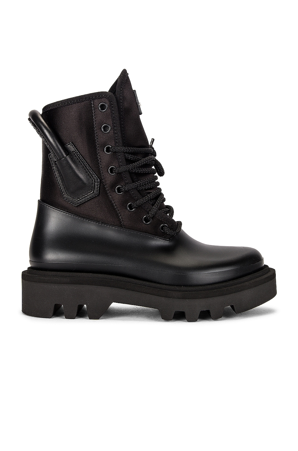 Image 1 of Givenchy Combat Rainboots in Black