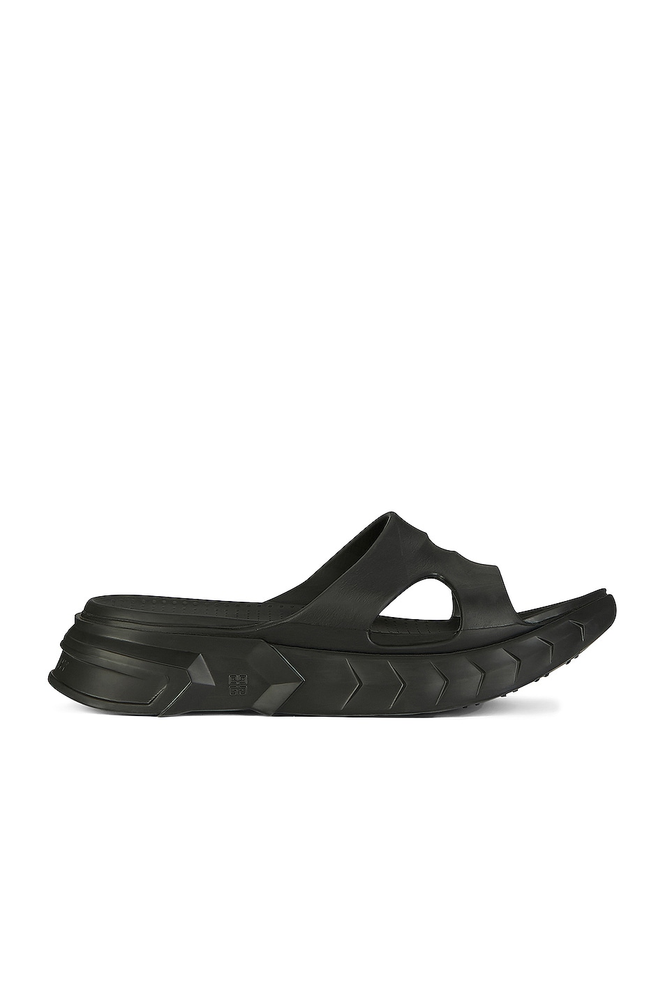 Image 1 of Givenchy Marshmallow Slider Sandals in Black
