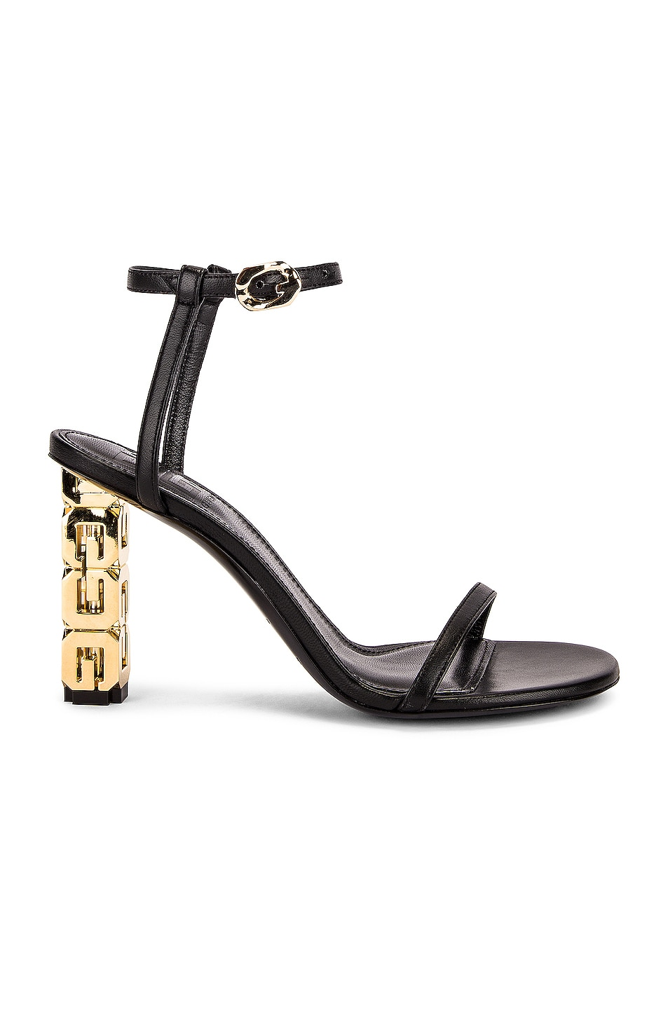 Image 1 of Givenchy G Cube Sandals in Black