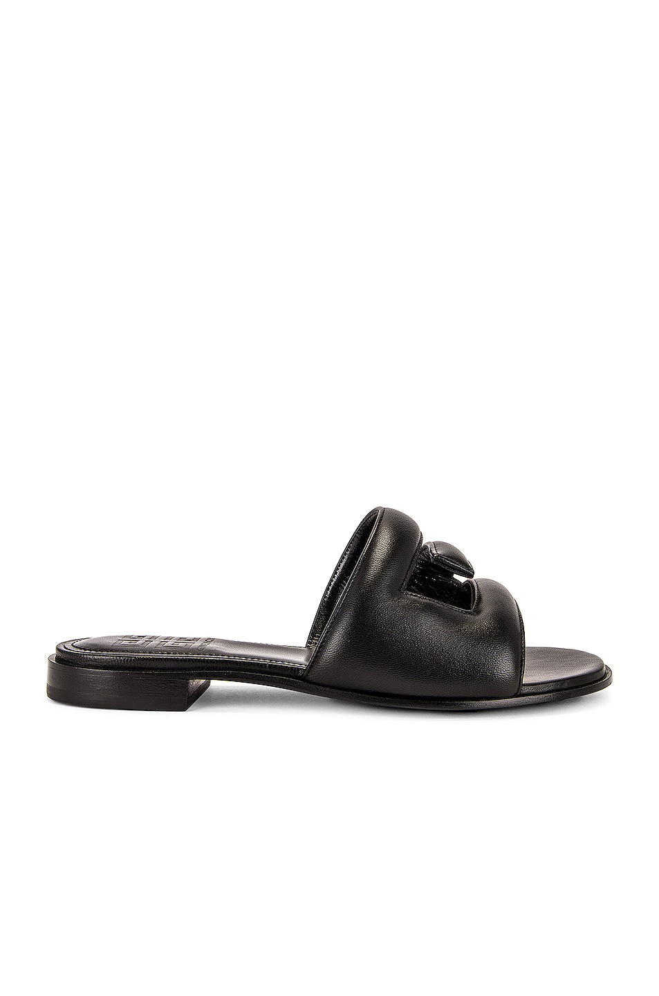 Image 1 of Givenchy G Flat Sandals in Black