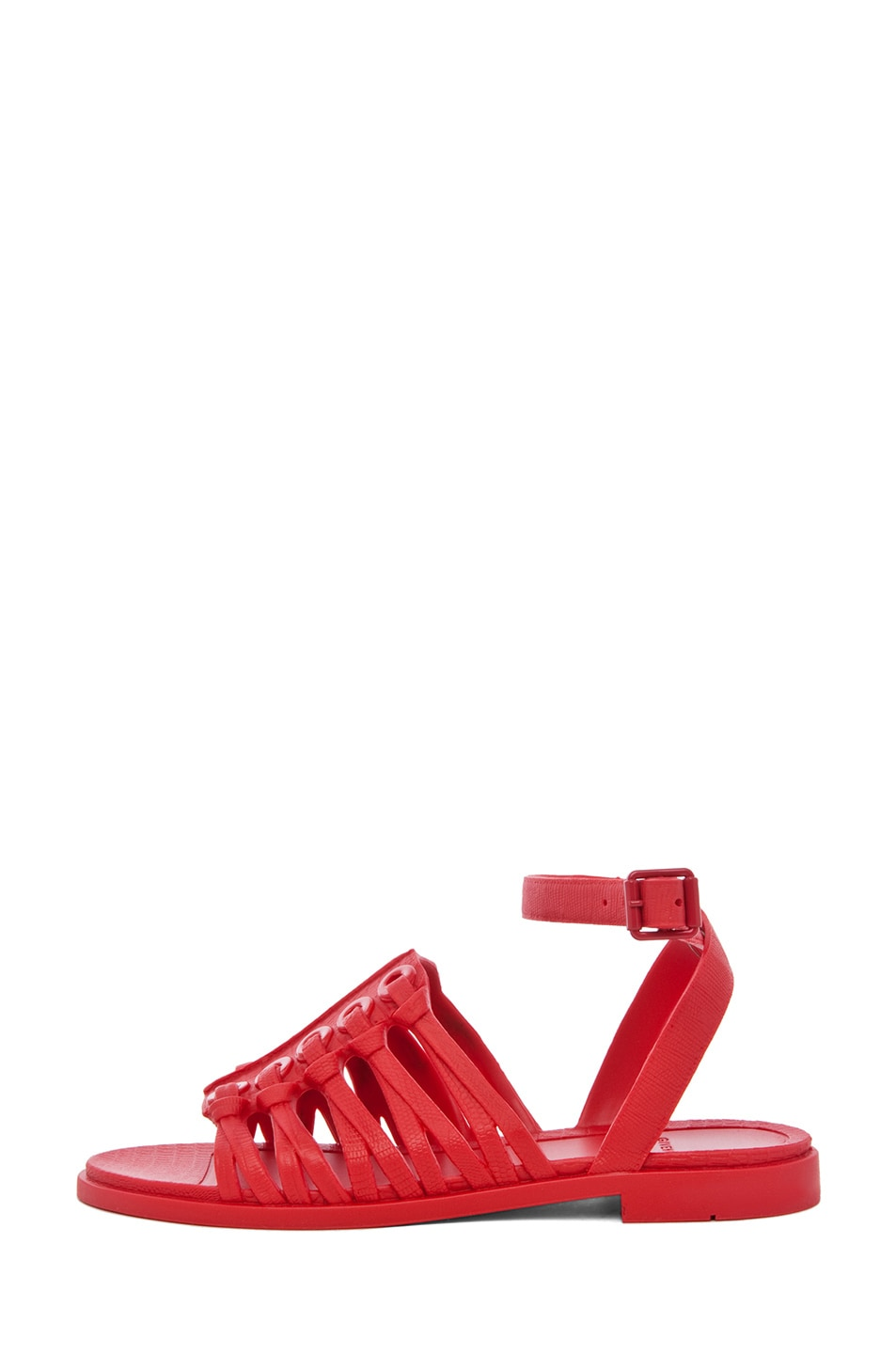 Image 1 of GIVENCHY Gladiator Sandal in Red