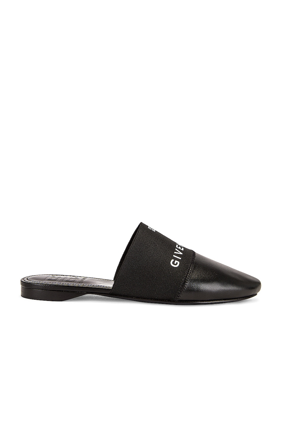 Image 1 of Givenchy Bedford Flat Mules in Black