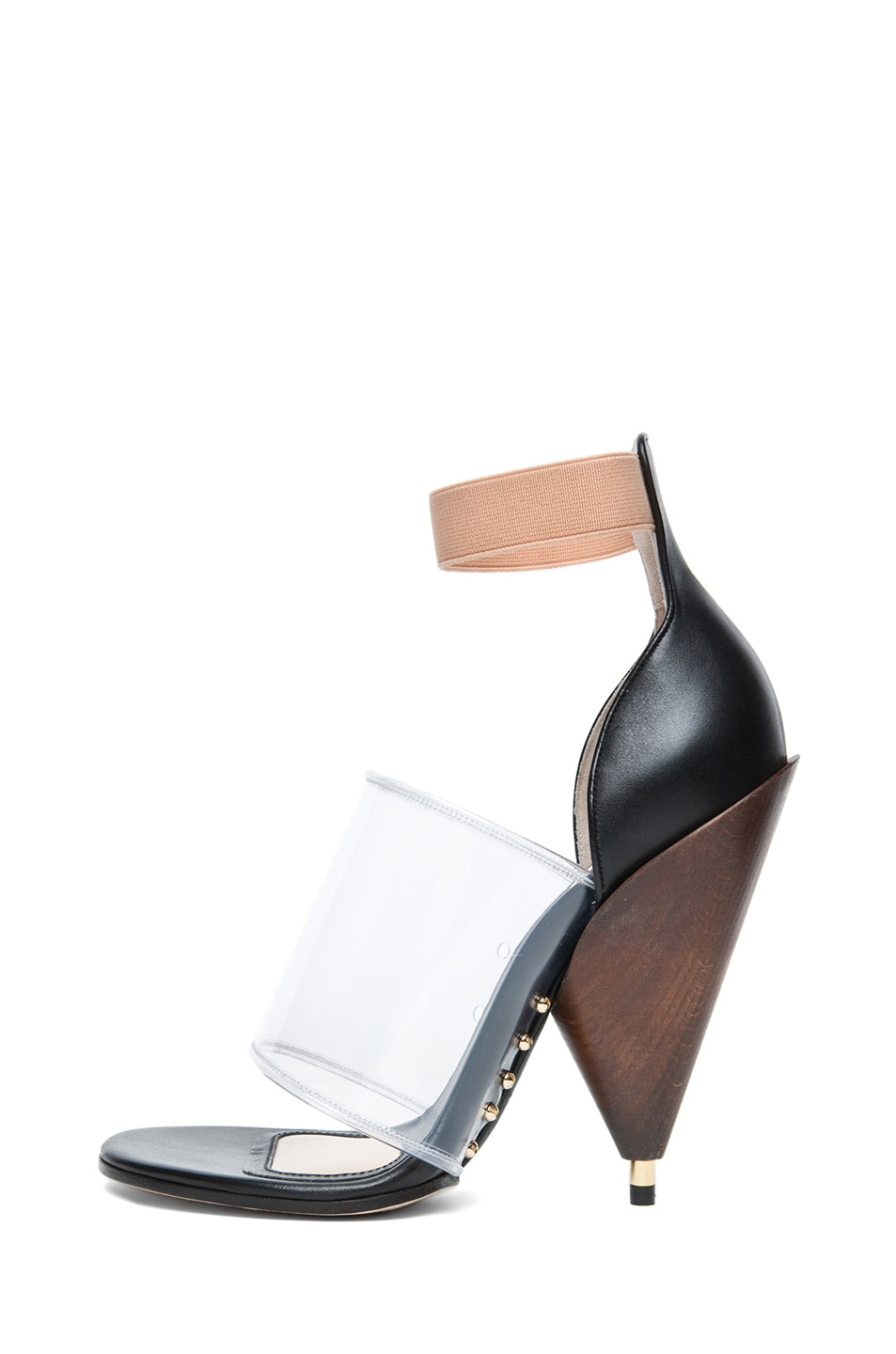 Image 1 of GIVENCHY Albertina Podium Heel in Black Multi