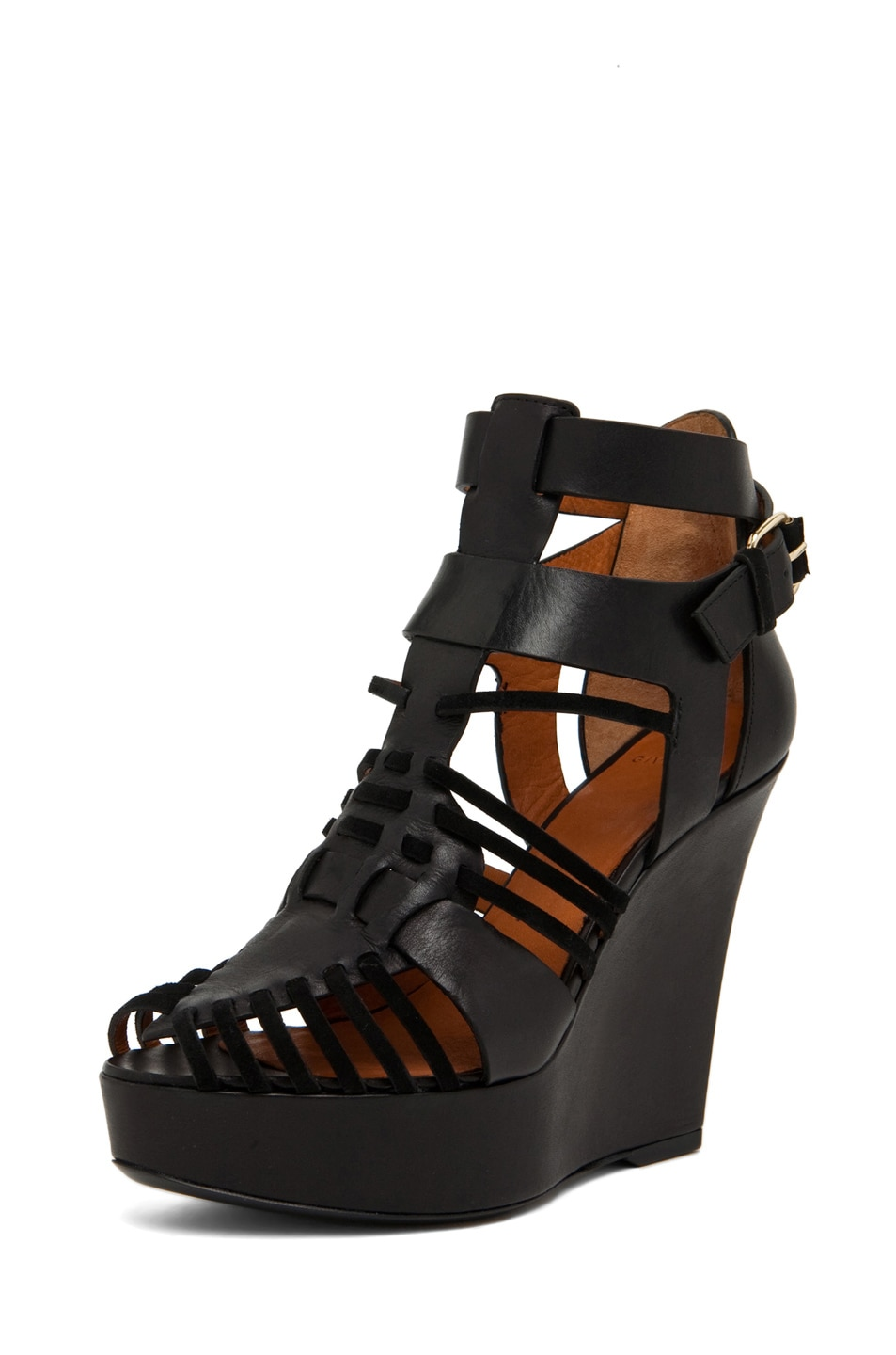 Image 2 of GIVENCHY Gladiator Wedge in Black