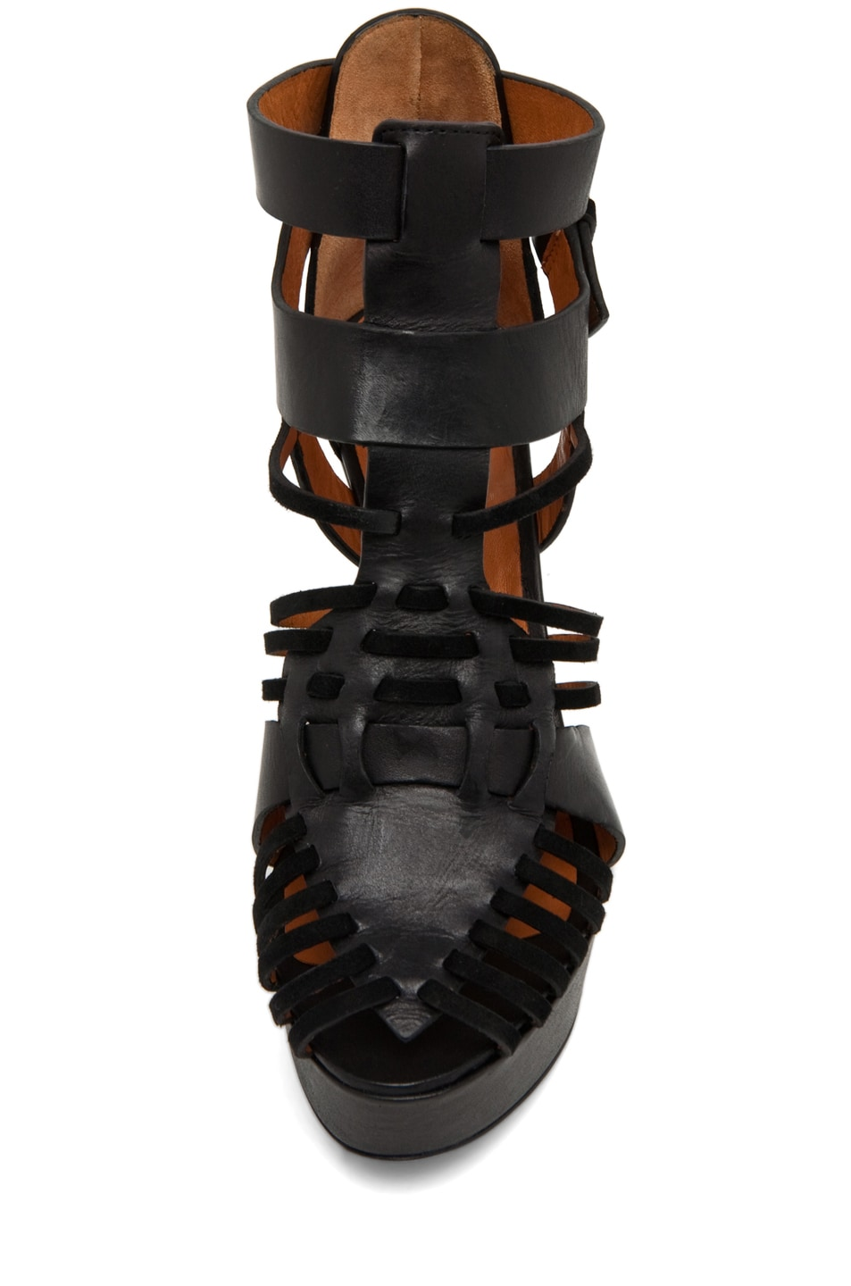 Image 4 of GIVENCHY Gladiator Wedge in Black