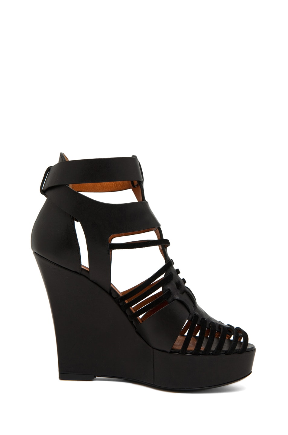Image 5 of GIVENCHY Gladiator Wedge in Black