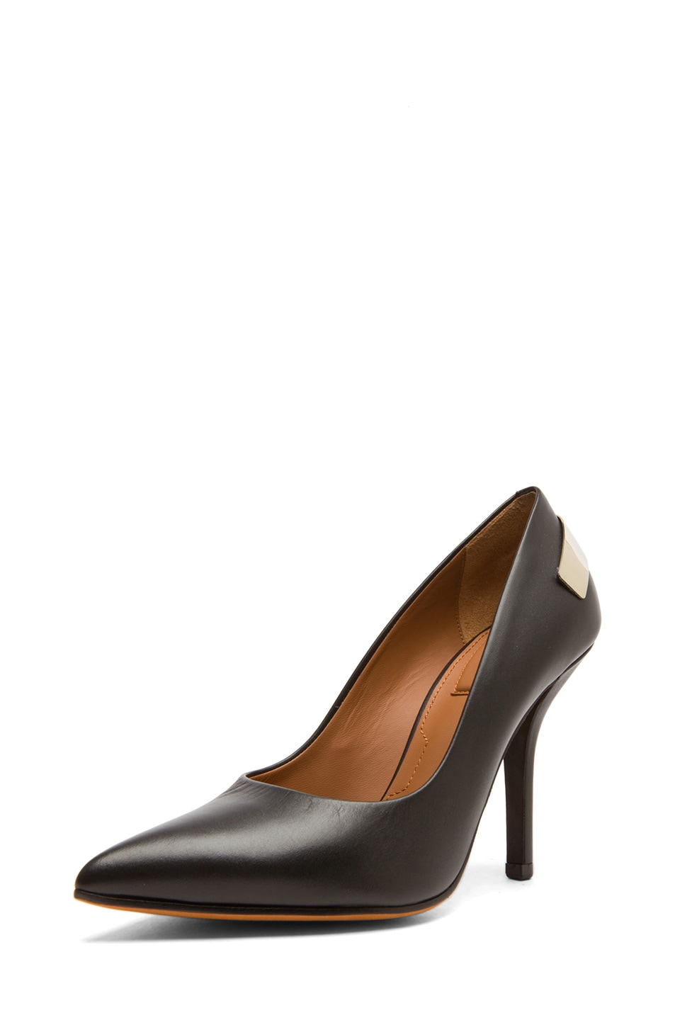Image 2 of Givenchy Calfskin Leather Pumps in Black