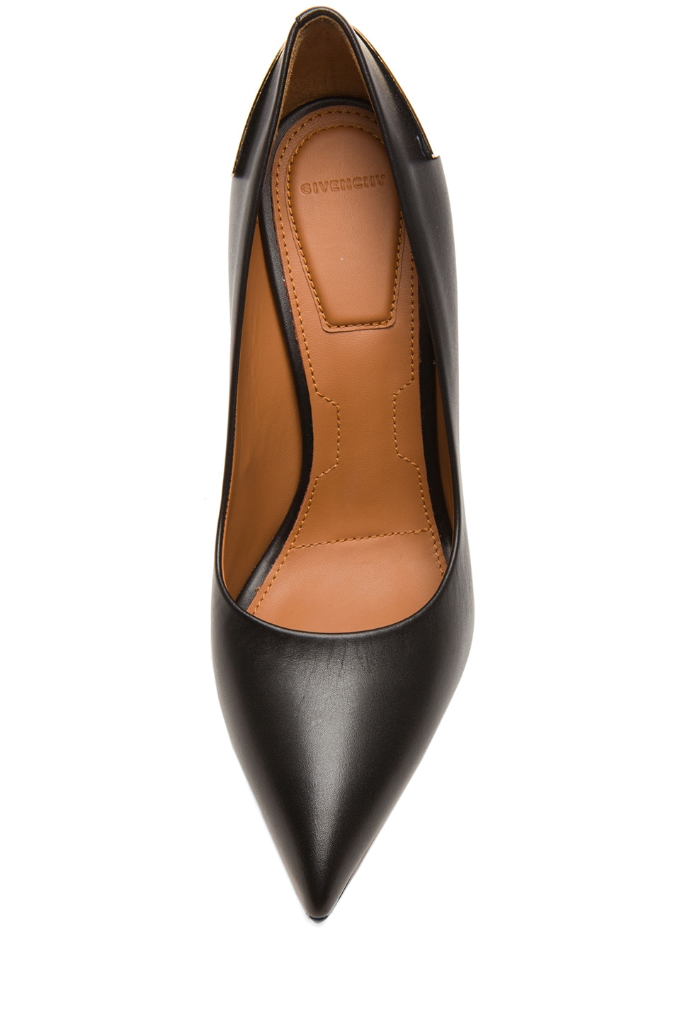 Image 4 of Givenchy Calfskin Leather Pumps in Black