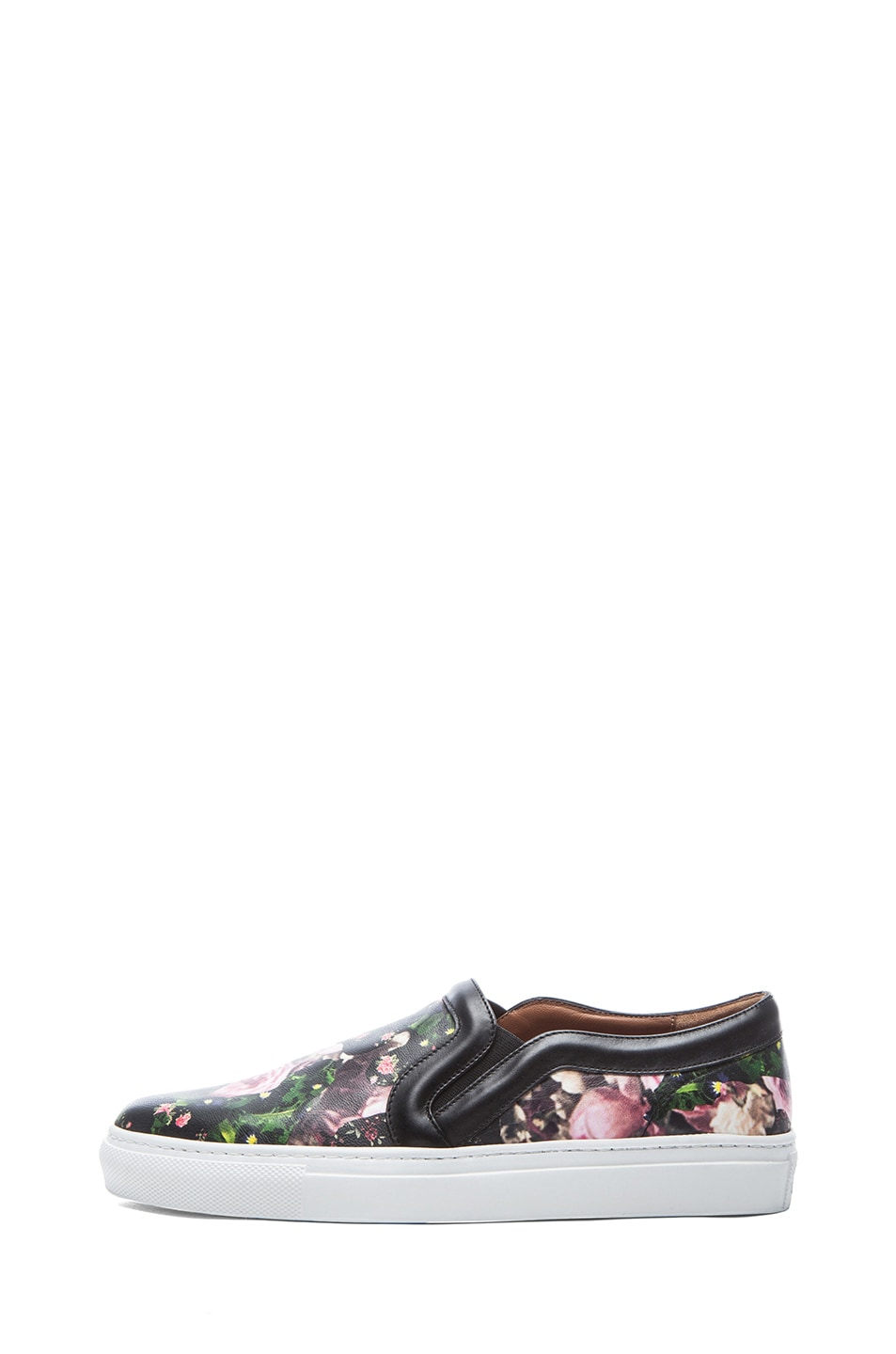 e303f919f7 Image 1 of Givenchy Nappa Leather Skate Shoes in Floral