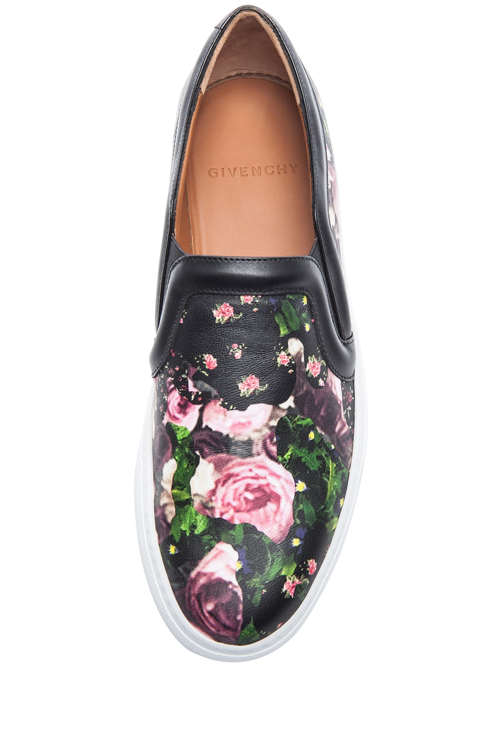 b9f8e1fbab Image 4 of Givenchy Nappa Leather Skate Shoes in Floral