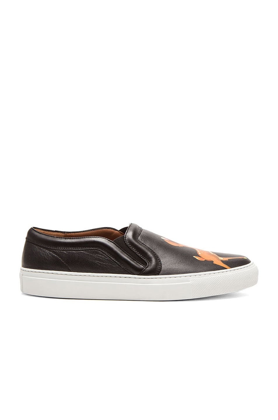 Image 1 of GIVENCHY Bambi Leather Skate Sneakers in Multi