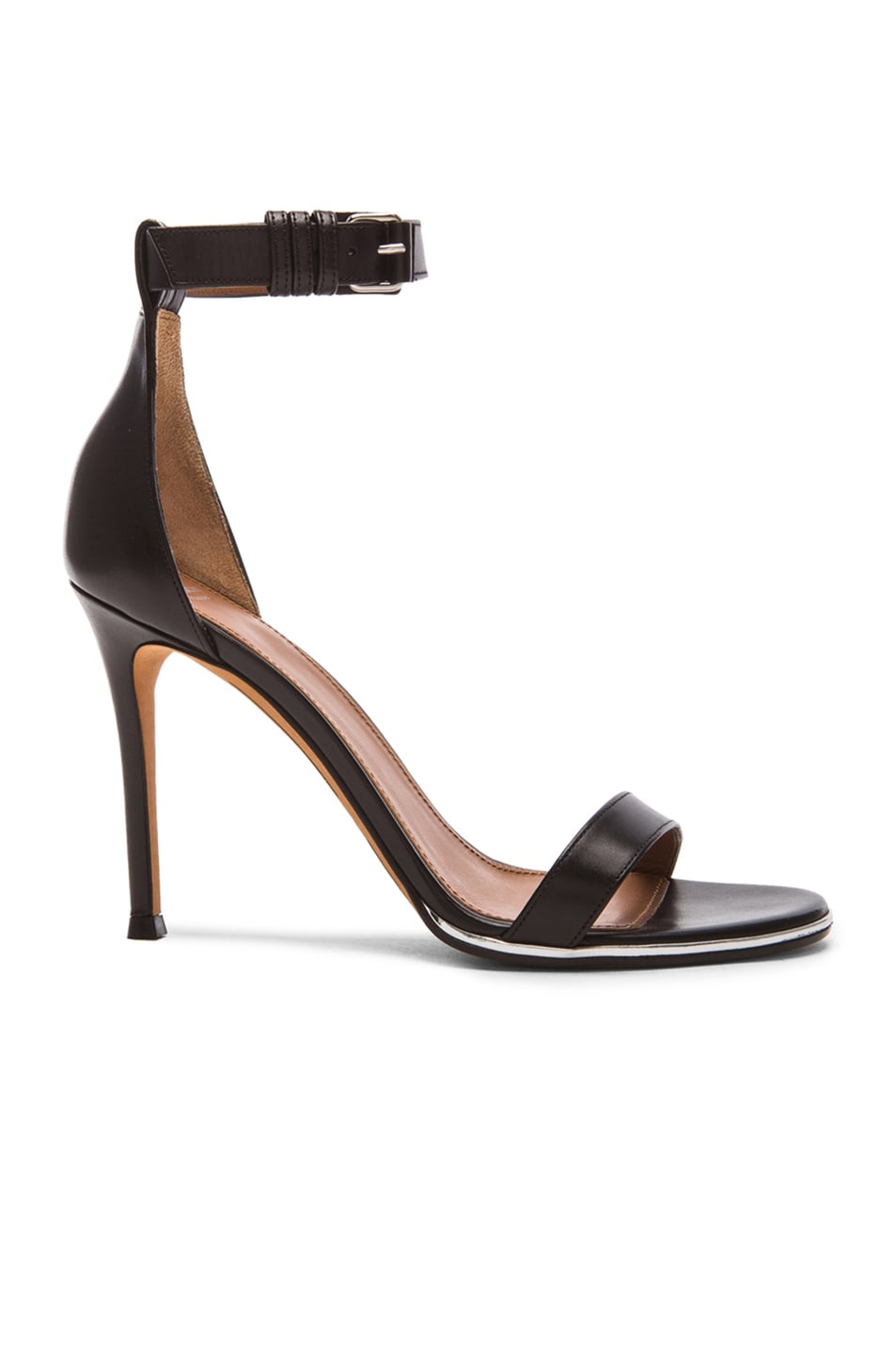 Image 1 of GIVENCHY Nadia Leather Heels in Black