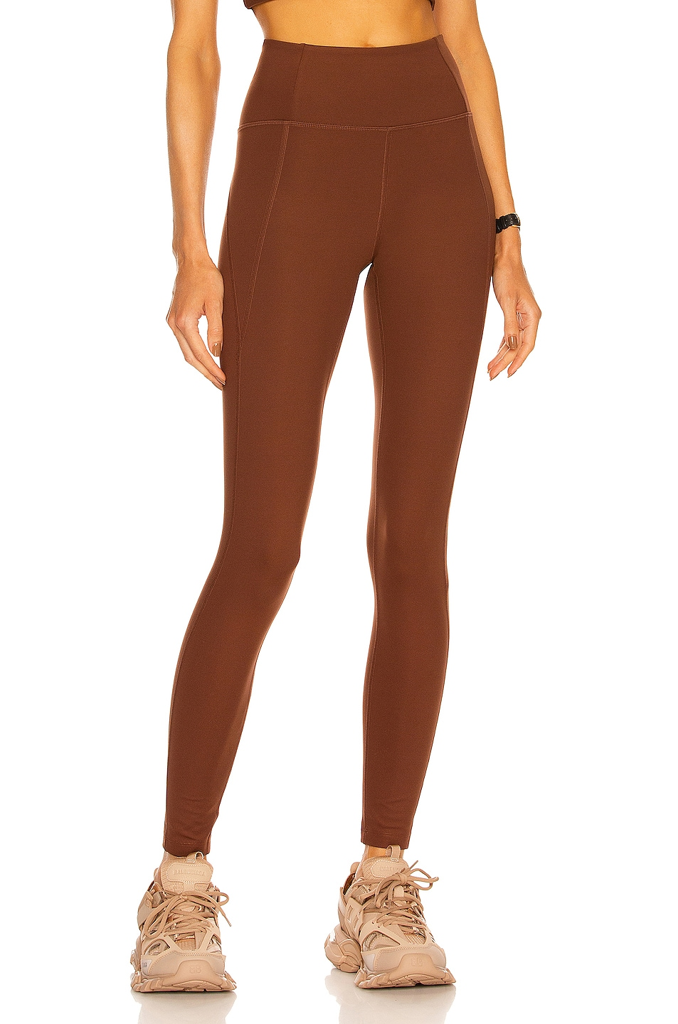 Image 1 of Girlfriend Collective High Rise Compressive Legging in Earth