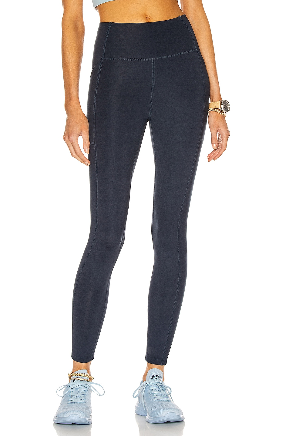Image 1 of Girlfriend Collective High-Rise Pocket Legging in Midnight