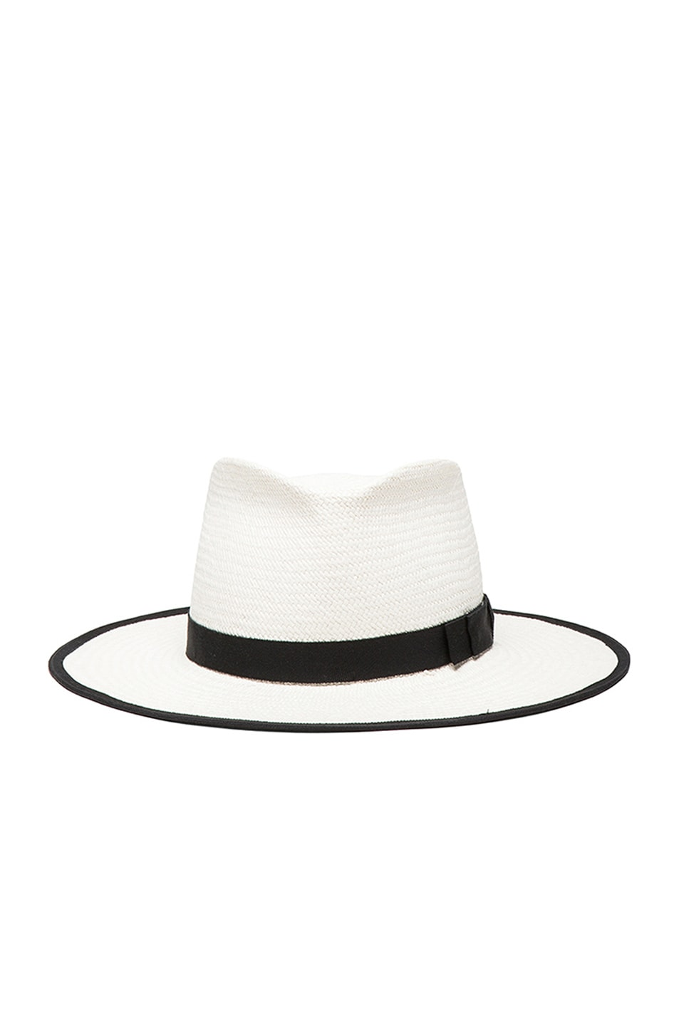 Image 1 of Gladys Tamez Millinery The Sinatra Hat in White