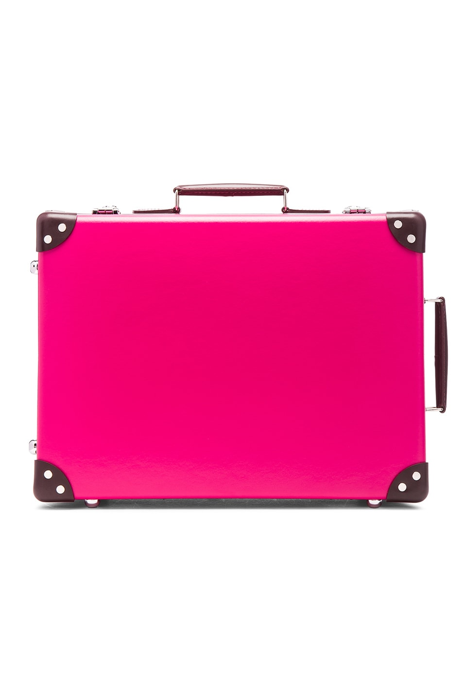 "Image 1 of Globe-Trotter 18"" Candy Trolley Case in Pink"