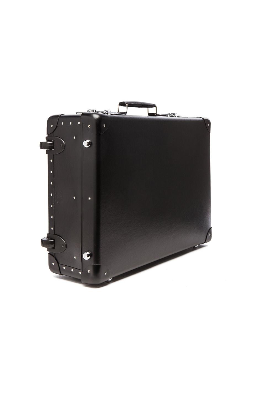 "Image 3 of Globe-Trotter 21"" Original Trolley Case in Black"