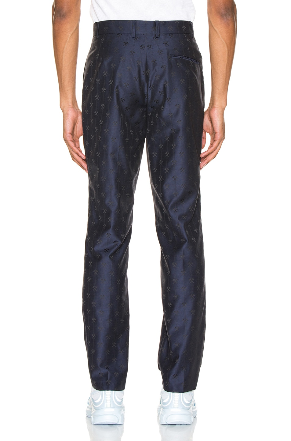 Image 3 of GmbH Talc Jacquard Trouser in Navy