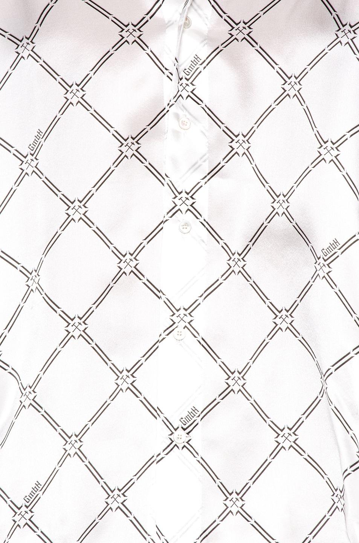 Image 5 of GmbH Geometric Digital Print Shirt in White