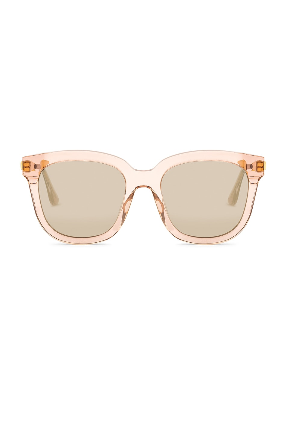 0045cb5b41d9 Image 1 of Gentle Monster Absente Sunglasses in Pink   Gold
