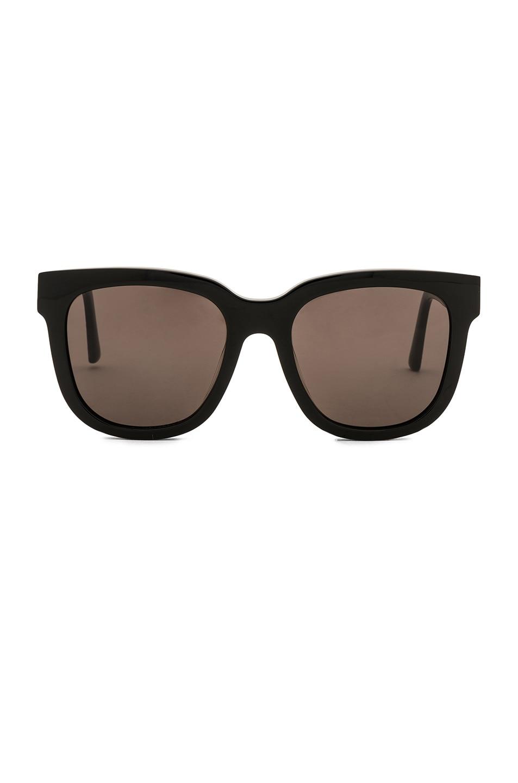 7bc05736b57 Image 1 of Gentle Monster Salt Sunglasses in Black