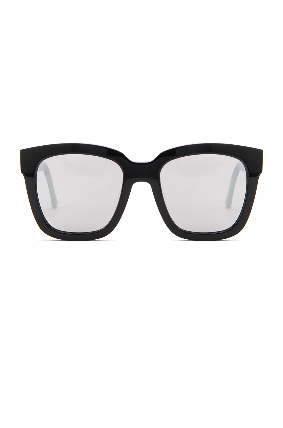 16f4c128b0 Image 1 of Gentle Monster The Dreamer Sunglasses in Black Acetate   Silver  Mirror