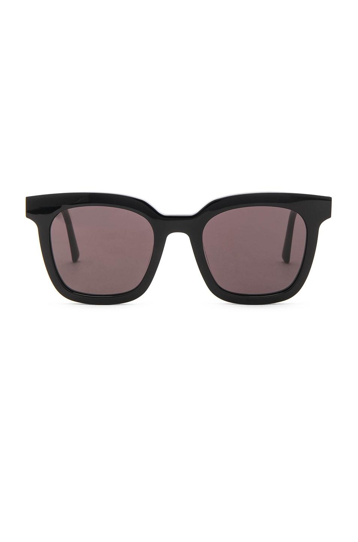 f2b1fdf49aa Image 1 of Gentle Monster Finn Sunglasses in Black Acetate   Black