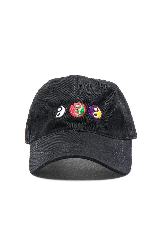 ceeb2a17253b4 Image 1 of Gosha Rubchinskiy Yin Yang Cap in Black