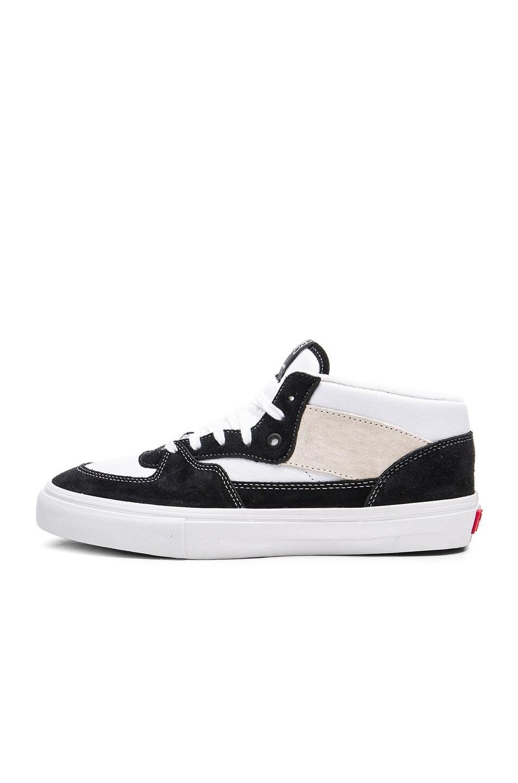 77b30700b975a9 Image 5 of Gosha Rubchinskiy x Vans Half Cab High Sneakers in Black   White