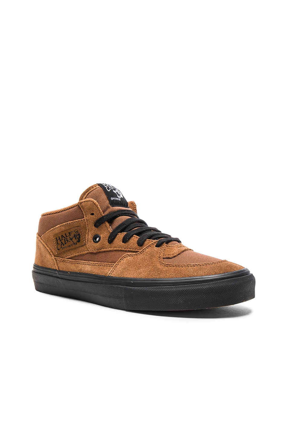 232bb221543626 Image 1 of Gosha Rubchinskiy x Vans Half Cab High Sneakers in Brown