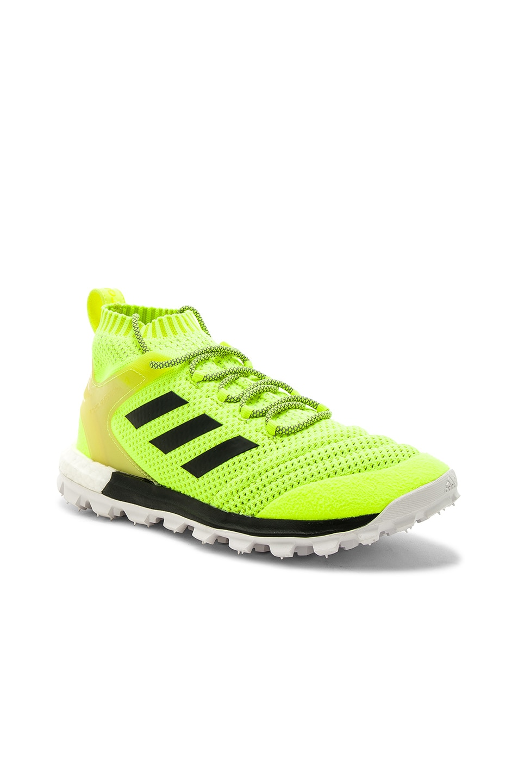 Image 1 of Gosha Rubchinskiy x Adidas Copa PK Mid Sneakers in Yellow 4c80b504b