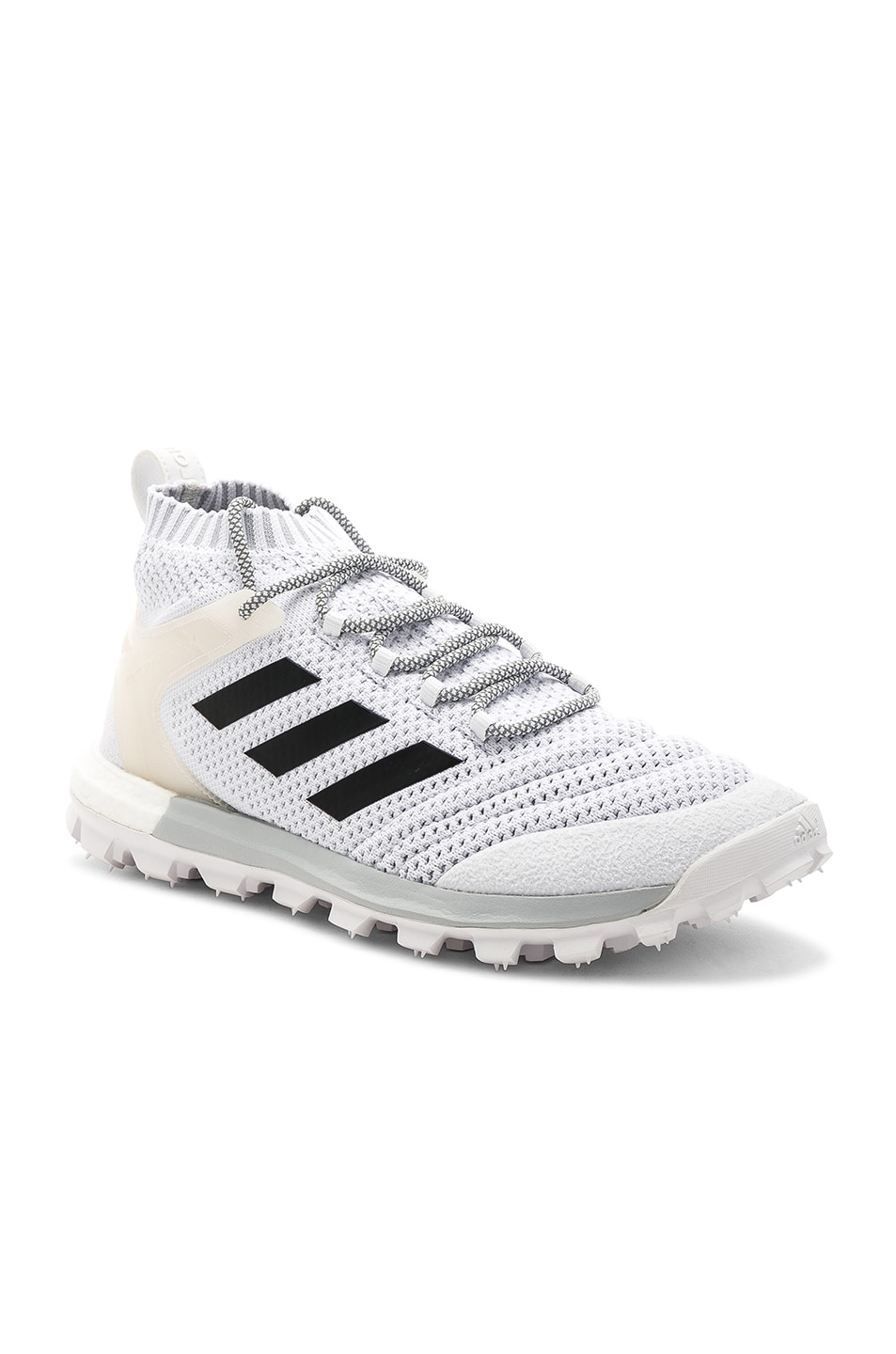 sports shoes a987a fc858 Image 1 of Gosha Rubchinskiy x Adidas Copa PK Mid Sneakers in White