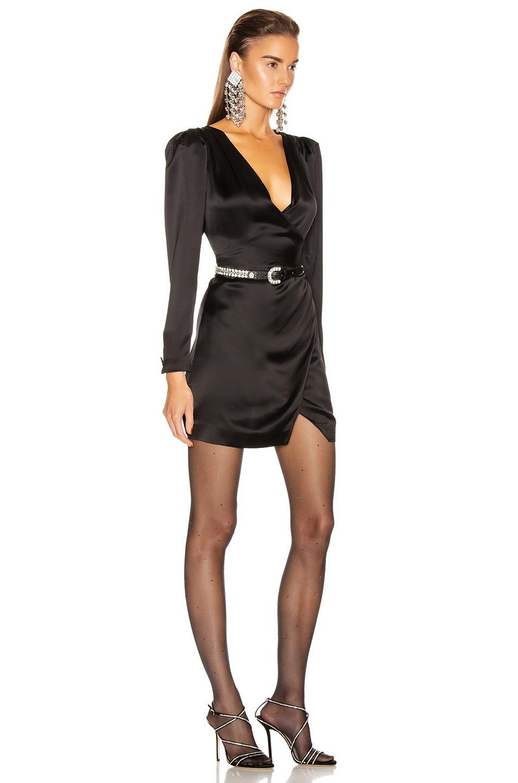 Image 2 of GRLFRND Nik Shirt Dress in Black