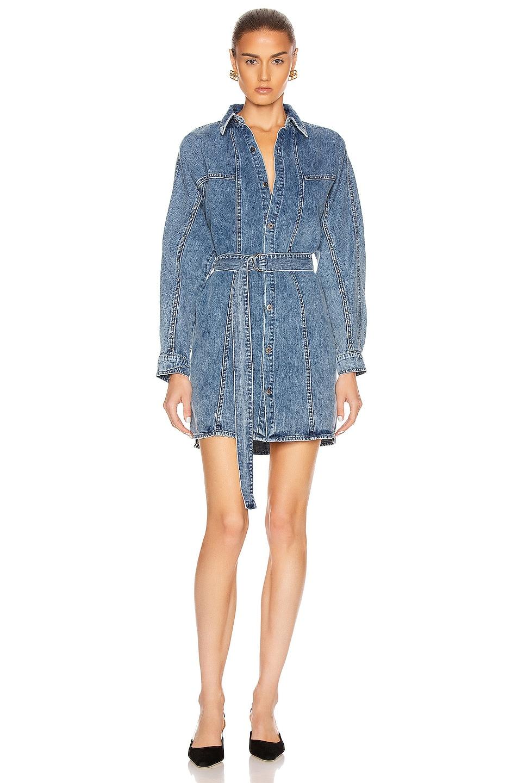 Image 2 of GRLFRND Kiko Studded Shirt Dress in Let You Go