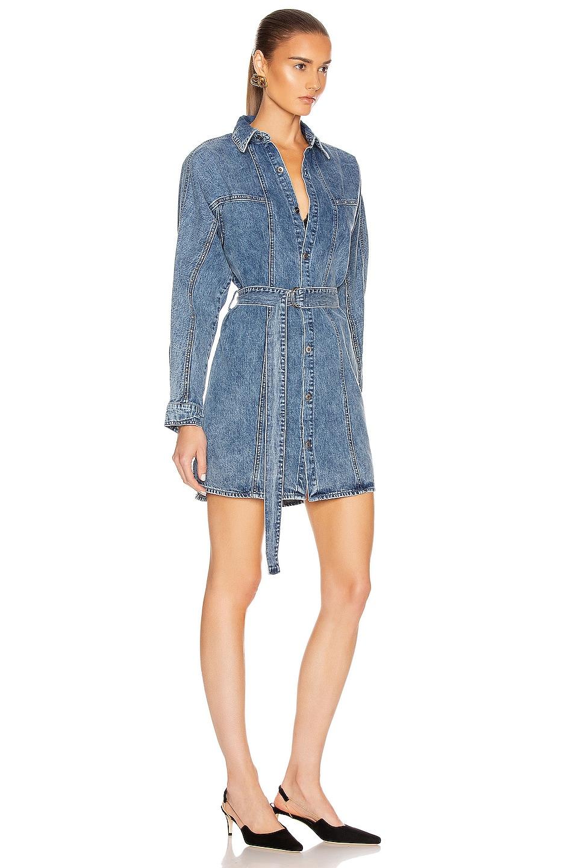 Image 3 of GRLFRND Kiko Studded Shirt Dress in Let You Go