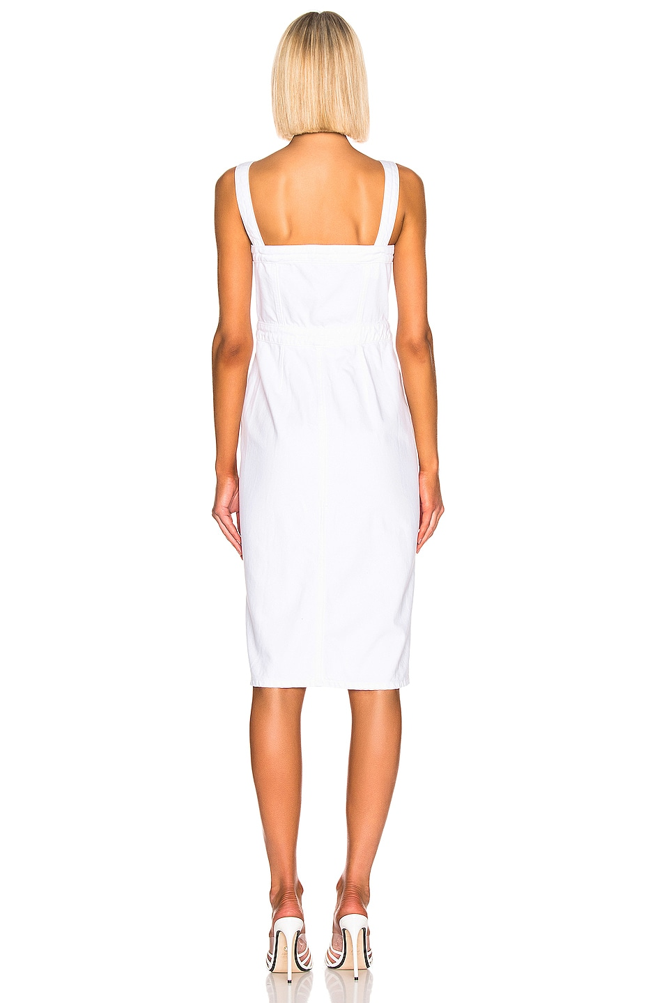 Image 3 of GRLFRND Petra Slim Midi Dress in Spotlight