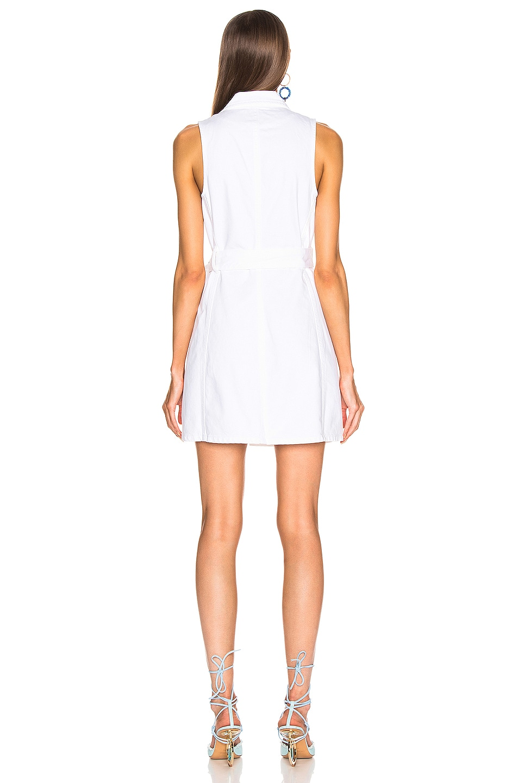 Image 4 of GRLFRND Kiran Belted Wrap Dress in Confidante