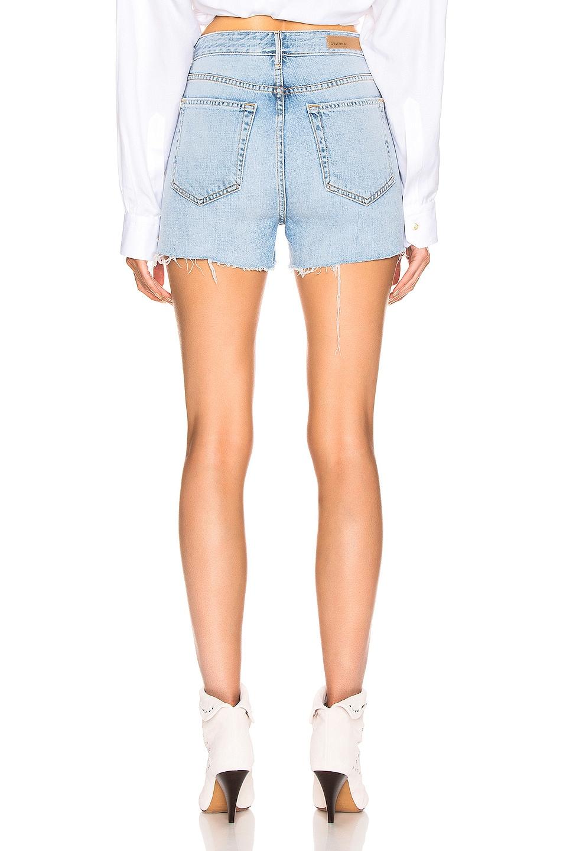 Image 3 of GRLFRND Poppy High Rise Cut Off Shorts in Keep Talking