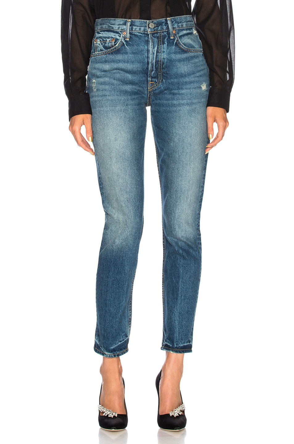 Image 1 of GRLFRND Karolina High Rise Skinny Jean in Close to You