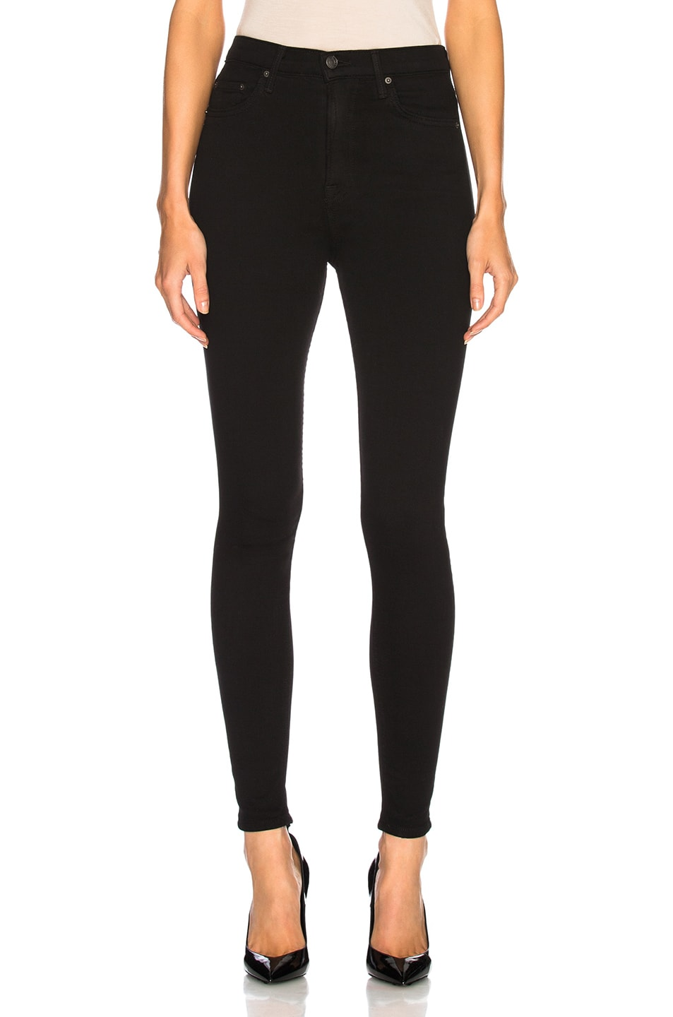 Image 1 of GRLFRND Kendall Super Stretch High Rise Skinny Jean in Black Magic Woman
